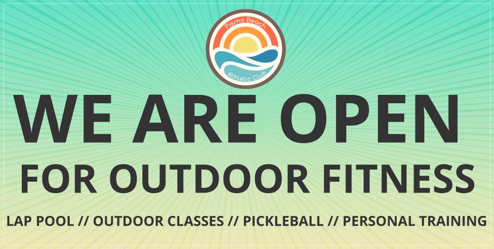 pismo beach athletic club is open